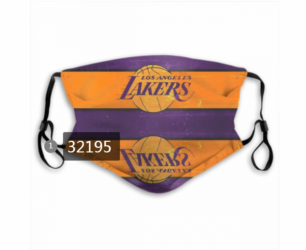 Wholesale NBA 2020 Los Angeles Lakers29 Dust mask with filter