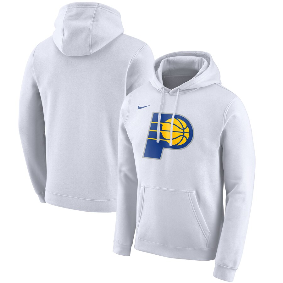 Wholesale NBA Indiana Pacers Nike 201920 City Edition Club Pullover Hoodie White