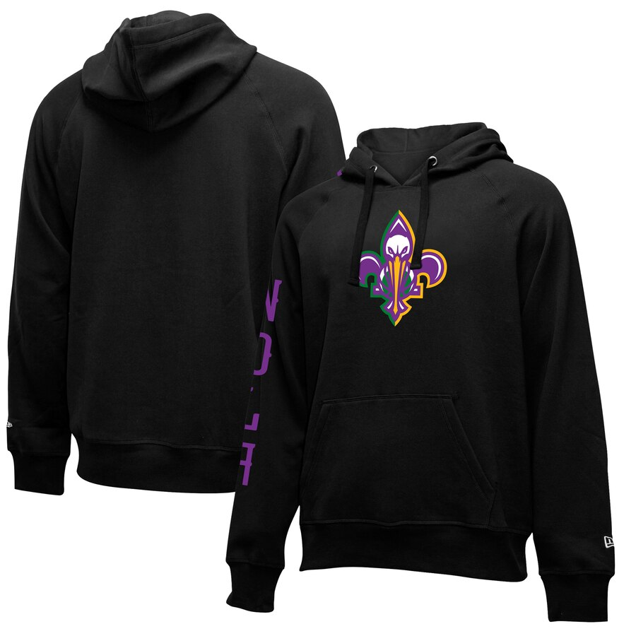Wholesale NBA New Orleans Pelicans New Era 201920 City Edition Pullover Hoodie Black