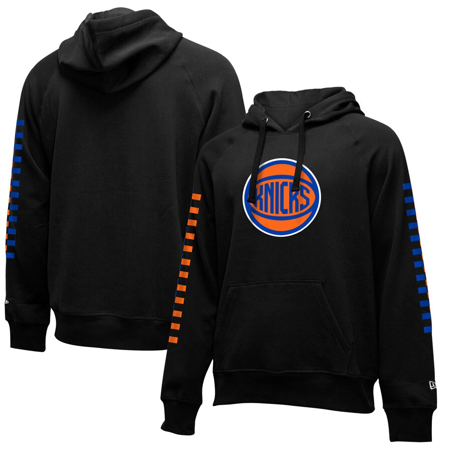 Cheap NBA New York Knicks New Era 201920 City Edition Pullover Hoodie Black
