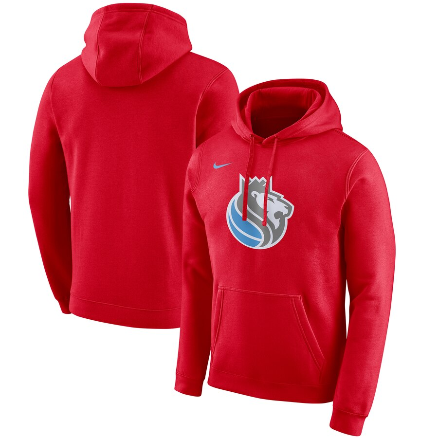 Wholesale NBA Sacramento Kings Nike 201920 City Edition Club Pullover Hoodie Red