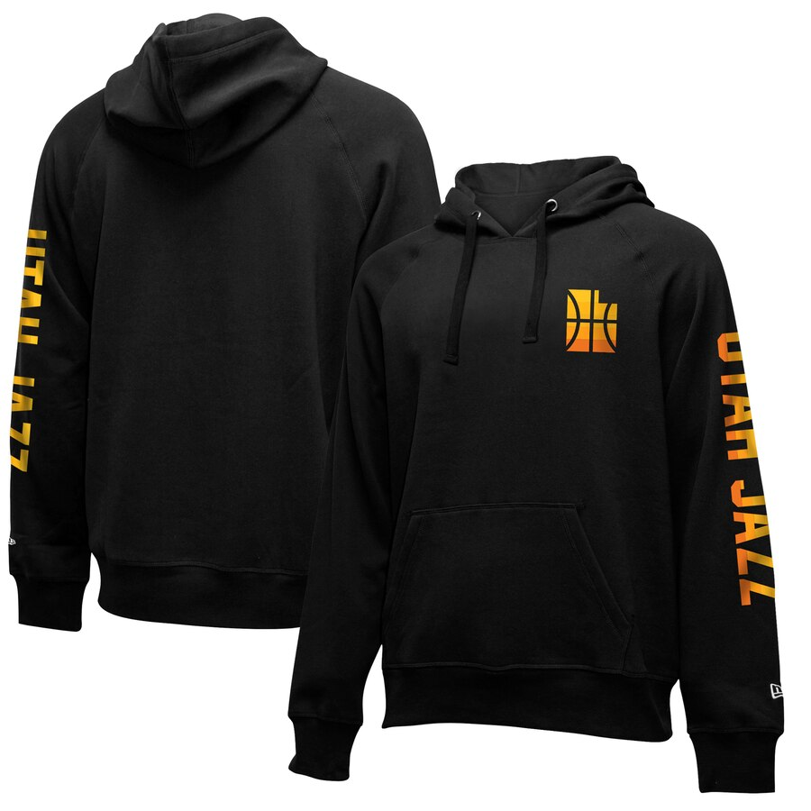 Cheap NBA Utah Jazz New Era 201920 City Edition Pullover Hoodie Black