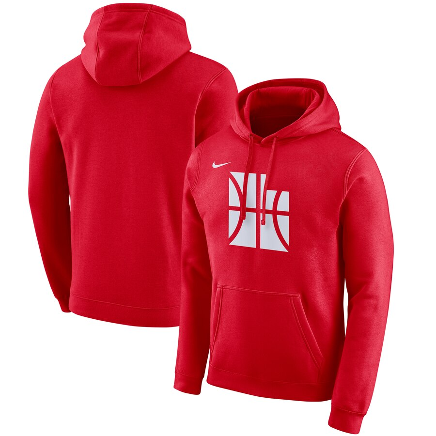 Cheap NBA Utah Jazz Nike 201920 City Edition Club Pullover Hoodie Red