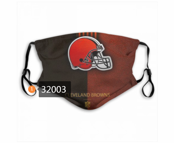 Cheap NFL 2020 Cleveland Browns 167 Dust mask with filter