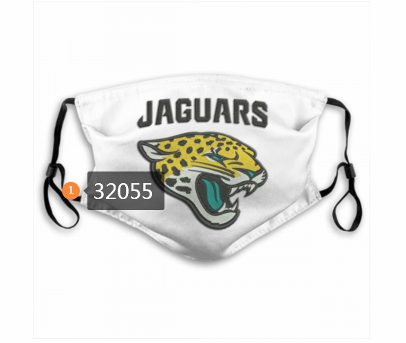 Cheap NFL 2020 Jacksonville Jaguars 115 Dust mask with filter