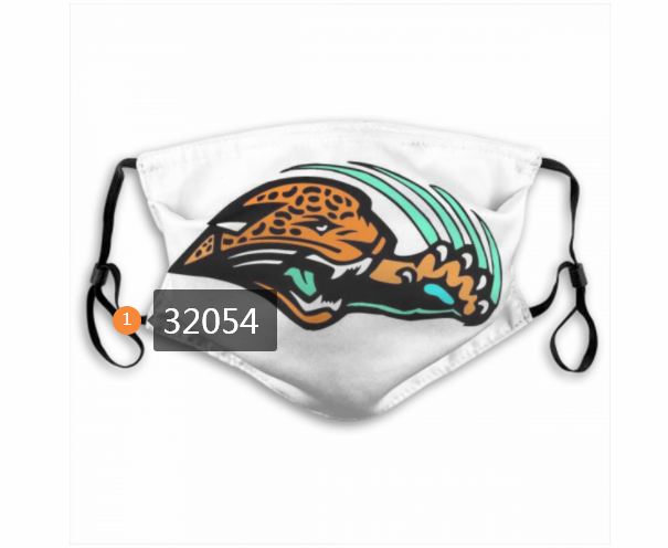 Cheap NFL 2020 Jacksonville Jaguars 116 Dust mask with filter