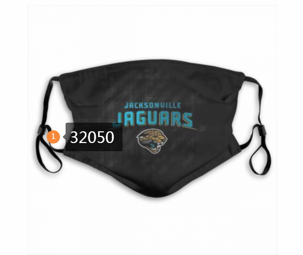 Cheap NFL 2020 Jacksonville Jaguars 120 Dust mask with filter