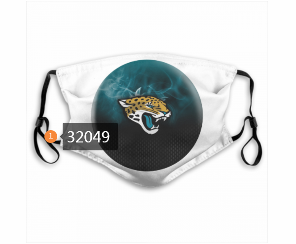 Cheap NFL 2020 Jacksonville Jaguars 121 Dust mask with filter