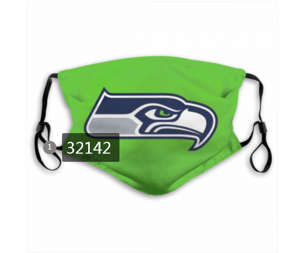 Cheap NFL 2020 Seattle Seahawks 27 Dust mask with filter