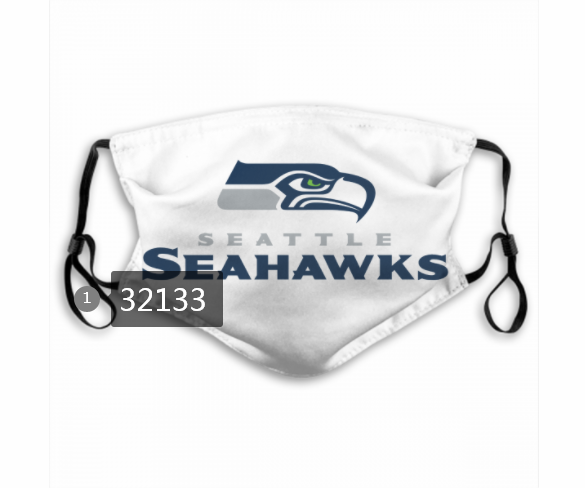 Cheap NFL 2020 Seattle Seahawks 36 Dust mask with filter
