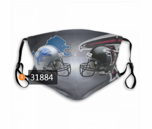 Cheap NFL Detroit Lions 682020 Dust mask with filter