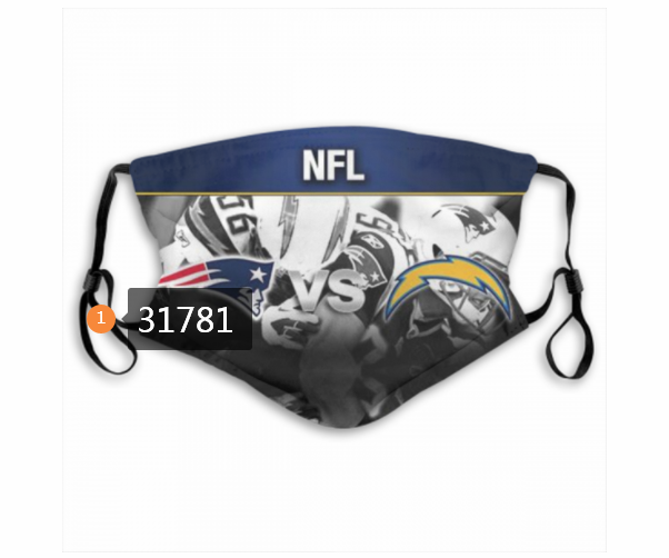Cheap NFL Los Angeles Chargers 1742020 Dust mask with filter