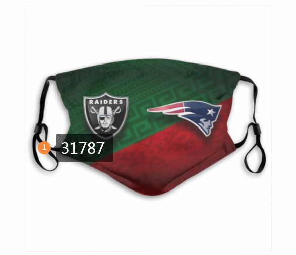 Wholesale NFL New England Patriots 1682020 Dust mask with filter