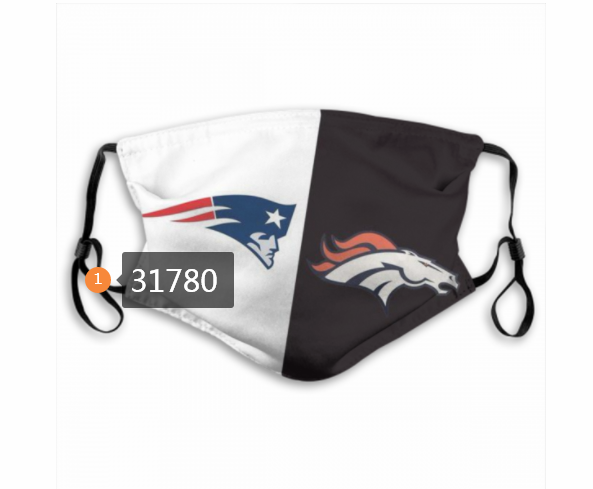 Wholesale NFL New England Patriots 1752020 Dust mask with filter
