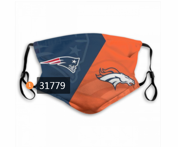 Wholesale NFL New England Patriots 1762020 Dust mask with filter