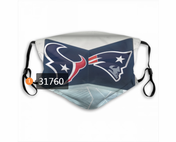 Wholesale NFL New England Patriots 1942020 Dust mask with filter