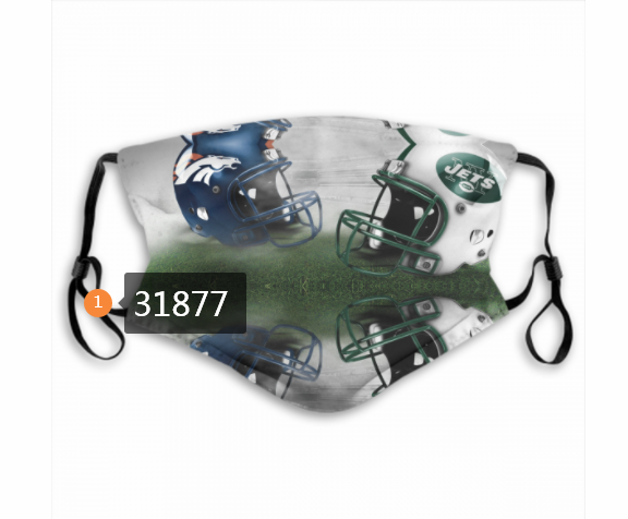 Wholesale NFL New York Jets 752020 Dust mask with filter