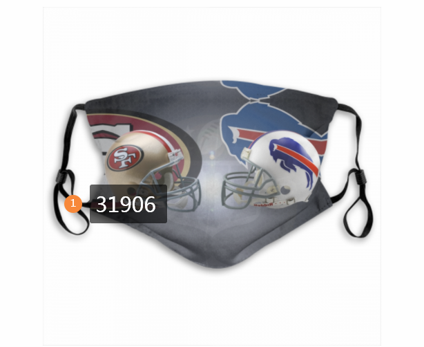 Cheap NFL San Francisco 49ers 452020 Dust mask with filter
