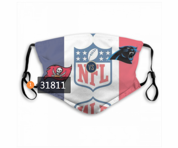 Wholesale NFL Tampa Bay Buccaneers 1442020 Dust mask with filter