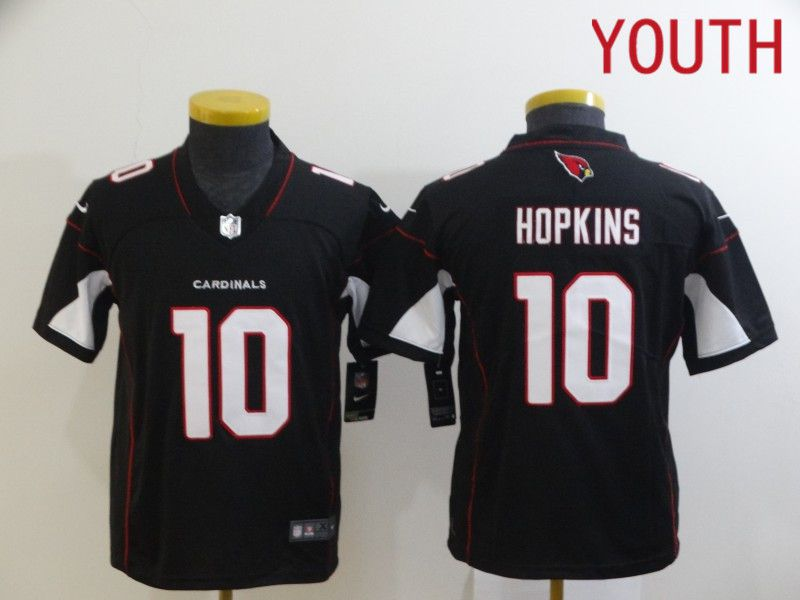 Wholesale Youth Arizona Cardinals 10 Hopkins Black Nike Limited Vapor Untouchable NFL Jerseys
