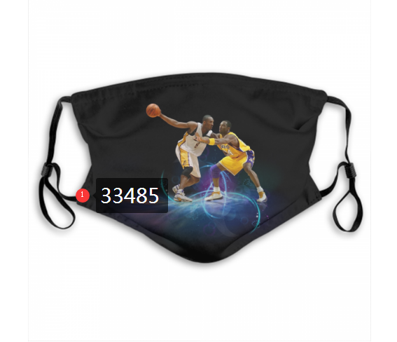 Wholesale 2021 NBA Los Angeles Lakers 24 kobe bryant 33485 Dust mask with filter