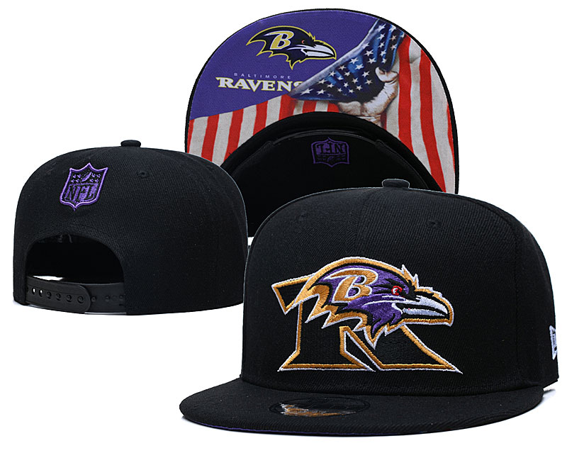 Wholesale 2021 New NFL Baltimore Ravens 13 hat GSMY