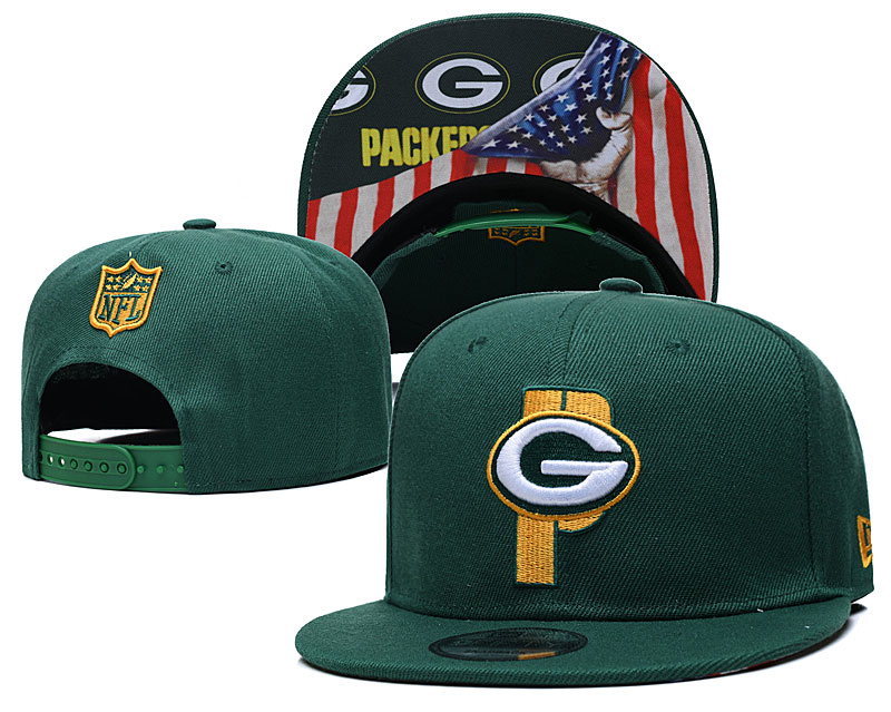Wholesale 2021 New NFL Green Bay Packers 7 hat GSMY