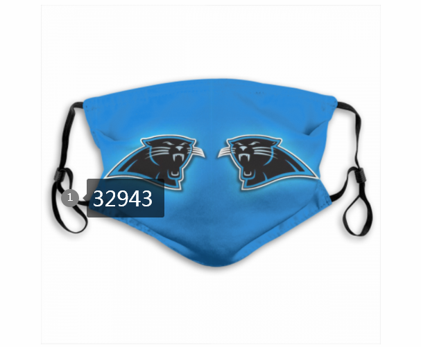 Cheap New 2021 NFL Jacksonville Jaguars 164 Dust mask with filter