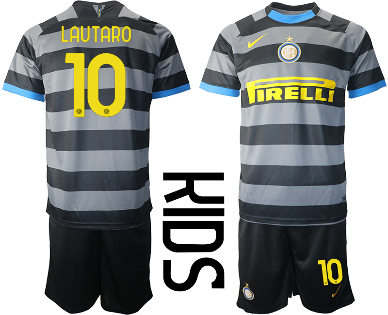 Wholesale 2021 Inter Milan Third Soccer Jersey youth 10 soccer jerseys