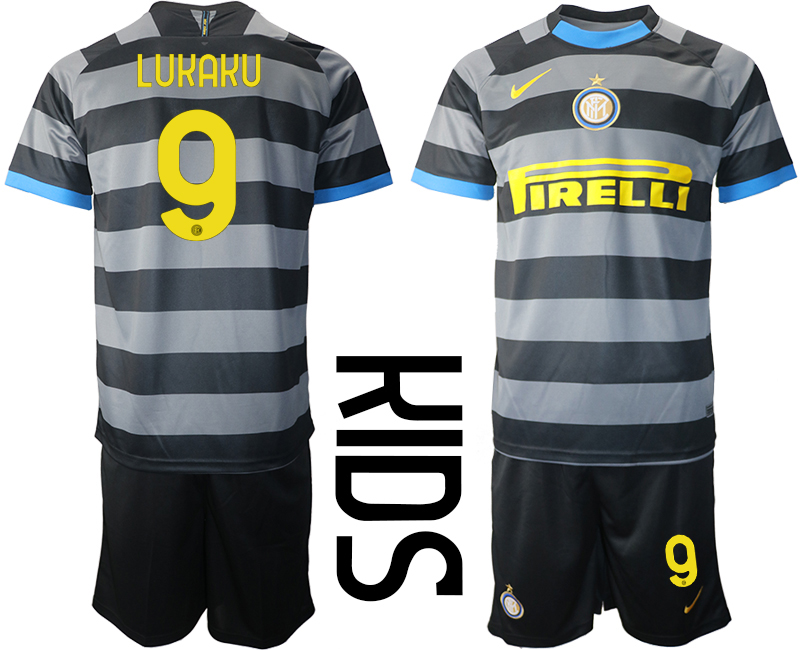 Wholesale 2021 Inter Milan Third Soccer Jersey youth 9 soccer jerseys