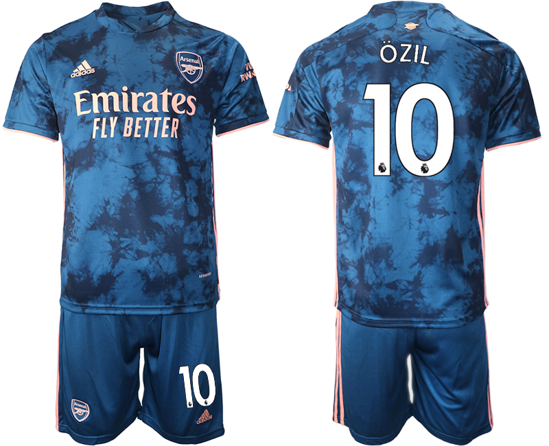 Wholesale 2021 Men Arsenal away 10 soccer jerseys