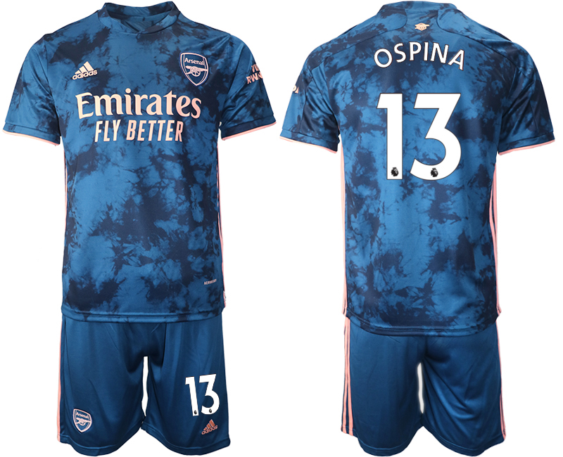 Wholesale 2021 Men Arsenal away 13 soccer jerseys