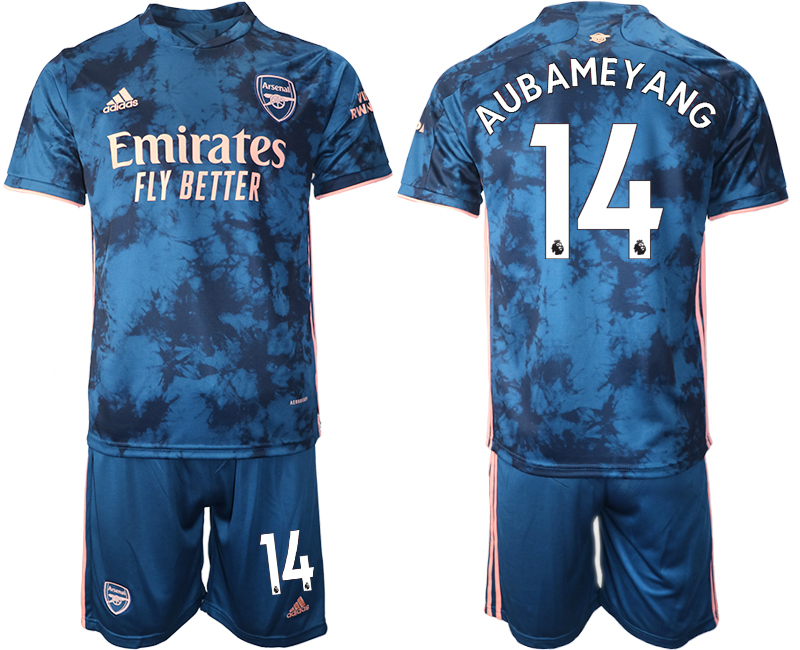 Wholesale 2021 Men Arsenal away 14 soccer jerseys