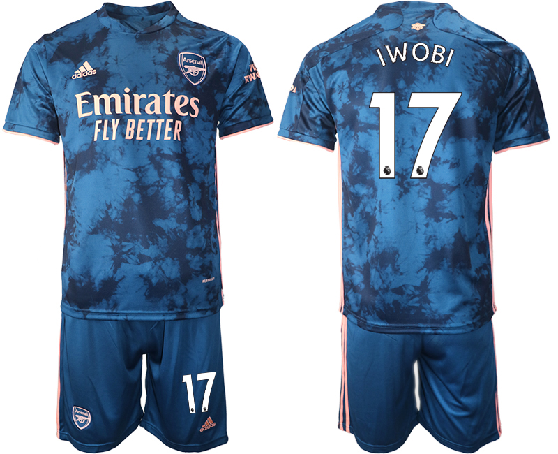 Wholesale 2021 Men Arsenal away 17 soccer jerseys