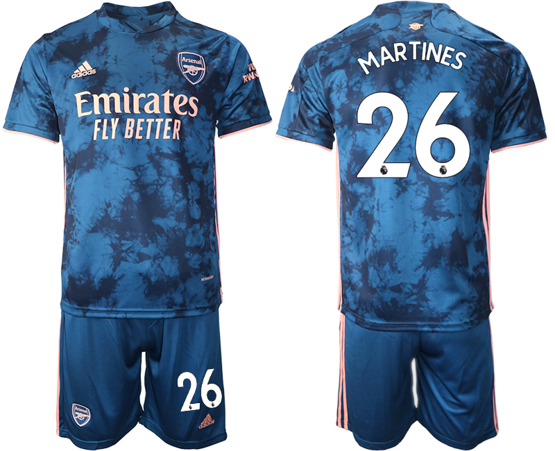 Wholesale 2021 Men Arsenal away 26 soccer jerseys