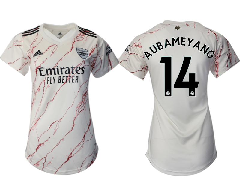 Wholesale 2021 Men Arsenal away aaa version womens 14 soccer jerseys