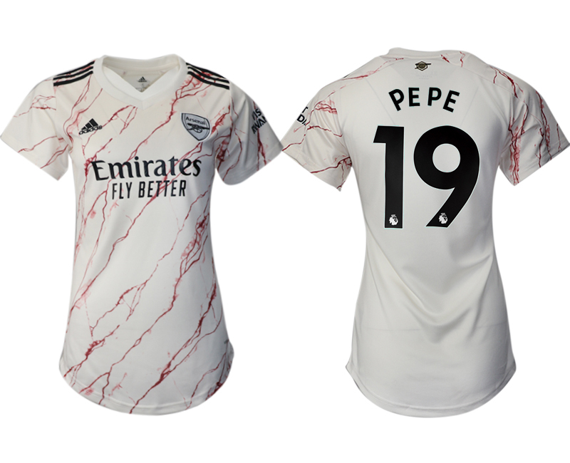 Wholesale 2021 Men Arsenal away aaa version womens 19 soccer jerseys