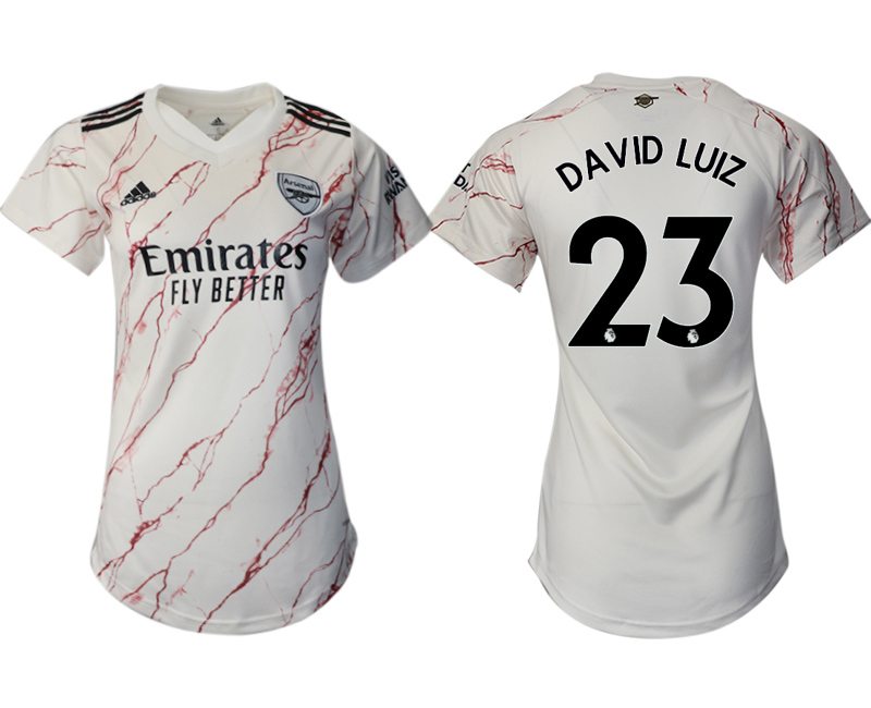 Wholesale 2021 Men Arsenal away aaa version womens 23 soccer jerseys