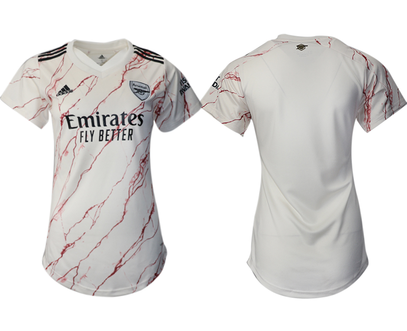 Wholesale 2021 Men Arsenal away aaa version womens soccer jerseys