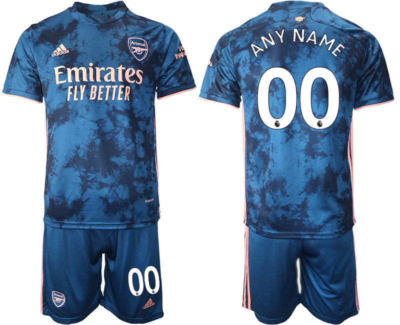 Wholesale 2021 Men Arsenal away any name soccer jerseys