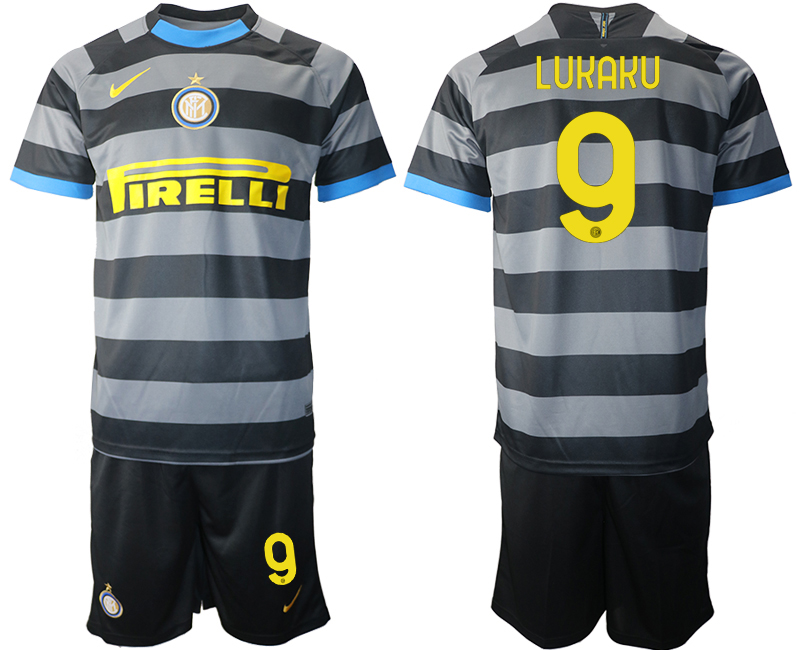Wholesale 2021 Men Inter Milan Third Soccer Jersey 9 soccer jerseys