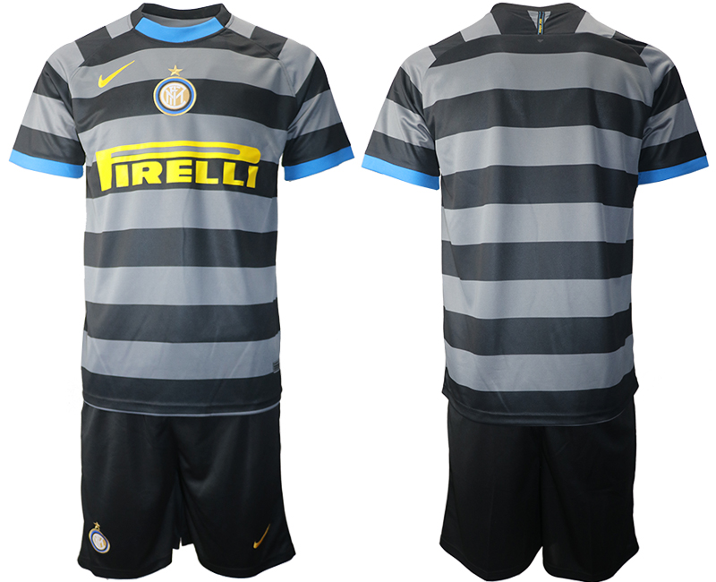 Wholesale 2021 Men Inter Milan Third Soccer Jersey soccer jerseys