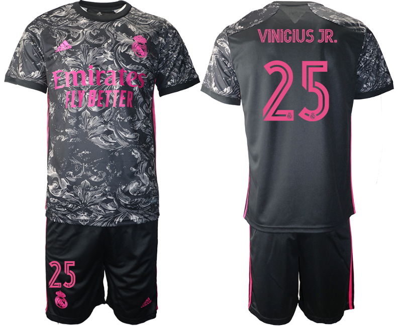 Cheap 2021 Men Real Madrid away 25 soccer jerseys