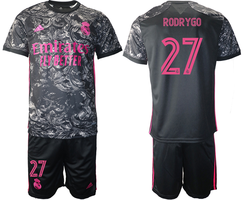 Cheap 2021 Men Real Madrid away 27 soccer jerseys
