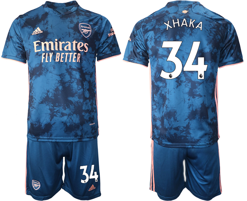Wholesale Men 2021 Arsenal away 34 soccer jerseys