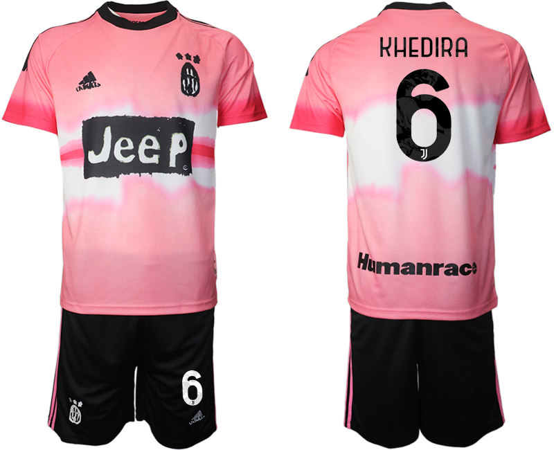Cheap Men 2021 Juventus adidas Human Race 6 soccer jerseys