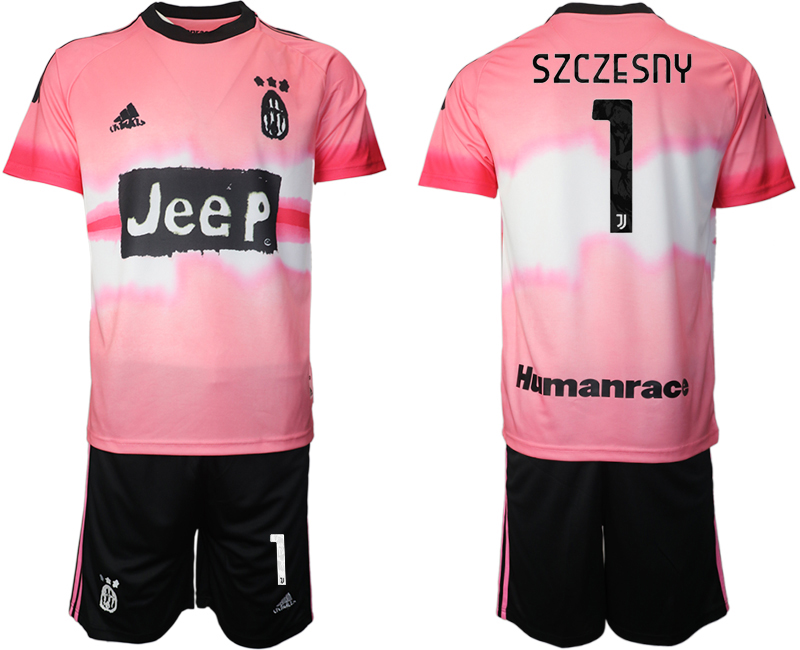 Cheap Men 2021 Juventus adidas Human Race 1 soccer jerseys