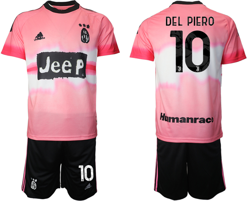 Cheap Men 2021 Juventus adidas Human Race 10 pink soccer jerseys