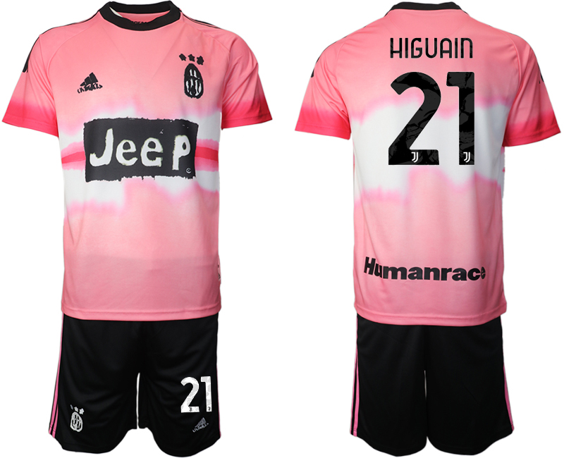 Cheap Men 2021 Juventus adidas Human Race 21 soccer jerseys