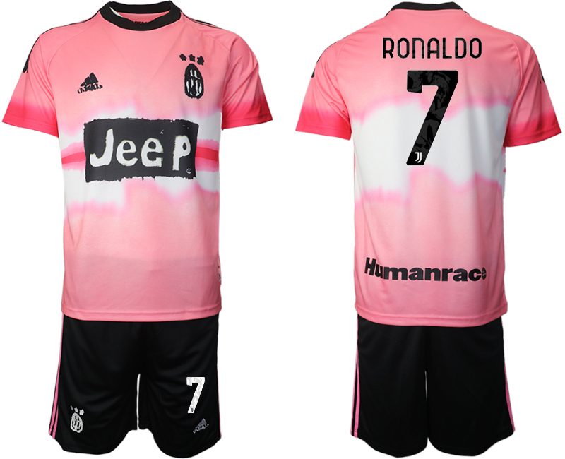 Cheap Men 2021 Juventus adidas Human Race 7 soccer jerseys